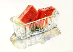 Watermelon, by Jana Bouc