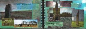 art notebook of Fi Bowman